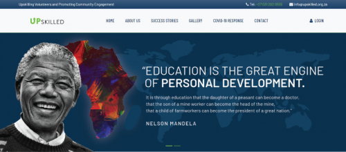 Upskilled Website